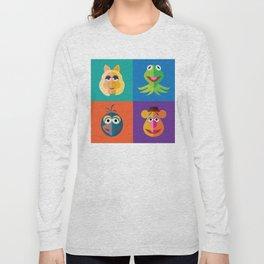 Muppet Minimalism Long Sleeve T-shirt