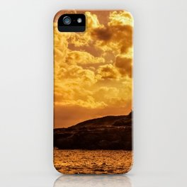 Golden iPhone Case