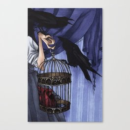 Crows On Heartstrings Promo Canvas Print