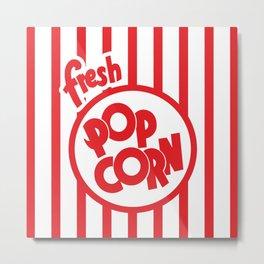 Fresh Popcorn Metal Print
