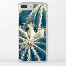 Southwest Cactus Garden Clear iPhone Case