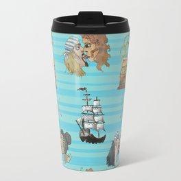 Celebration on Board - Turquoise Travel Mug