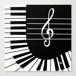 Piano Keys I Canvas Print