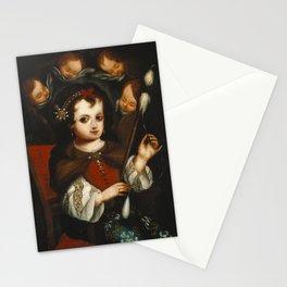 Virgin Mary Spinning Stationery Cards