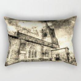 St Andrews Church Hornchurch Essex Vintage Rectangular Pillow