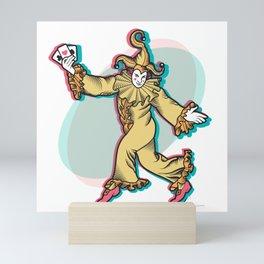 Joker is Wild Mini Art Print