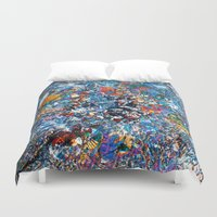 fruit Duvet Covers featuring Fruit by Stephen Linhart