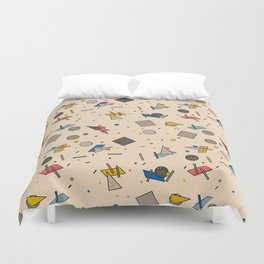 Memphis Inspired Pattern 9 Duvet Cover