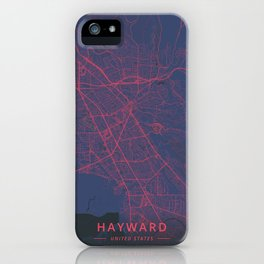 Hayward, United States - Neon iPhone Case