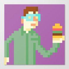 Hamburger time! Canvas Print