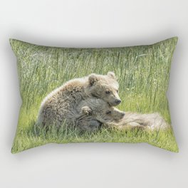I Got Your Back - Bear Cubs, No. 4 Rectangular Pillow