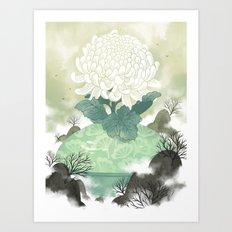 Celadon Art Print