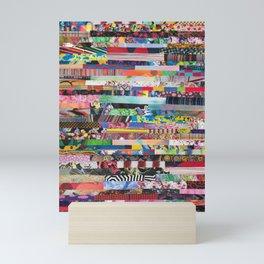Random Collage Mini Art Print