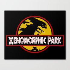Xenomorphic Park  Canvas Print