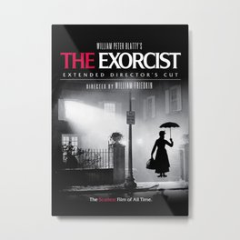 Mary Poppins in the Exorcist Metal Print