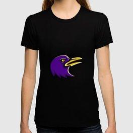 American Crow Head Mascot T-shirt