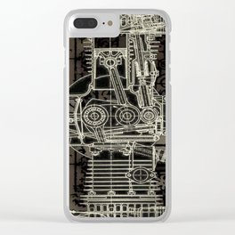 Nocturne Opus 1 Clear iPhone Case