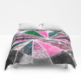 Strange Sunrise Comforters