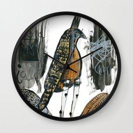 Wingless Wall Clock