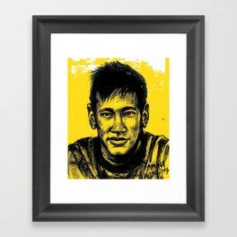 Neymar Framed Art Print