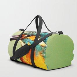Bright Orange Duffle Bag