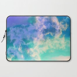 Mountain Meadow Painted Clouds Laptop Sleeve