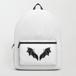 Black Dragon Wings Backpack