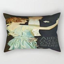 Vintage poster - Arrow Collar Rectangular Pillow