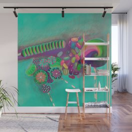 Lollipop & Jelly Beans Wall Mural