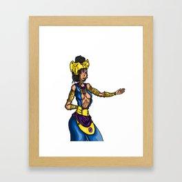 Queen M Framed Art Print