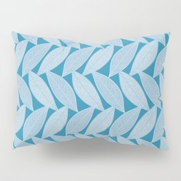 Lowercase Letter M Vector Repeat Pattern Pillow Sham