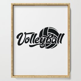 Volleyball Gift Serving Tray