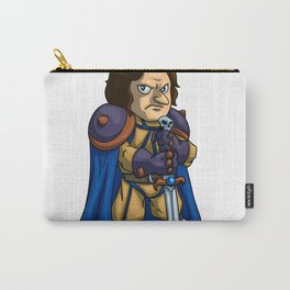 Angry man warrior cartoon Carry-All Pouch