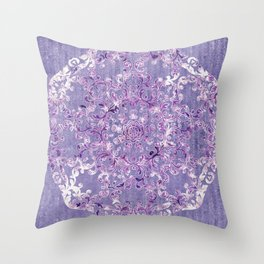 A Taste of Lilac Wine Throw Pillow