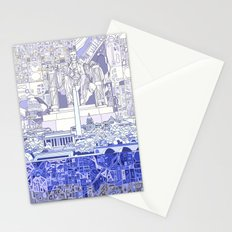washington dc city skyline Stationery Cards
