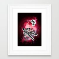 illusion Framed Art Prints featuring Illusion by Rilke Guillén
