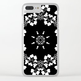 Flower ornament 20 Clear iPhone Case