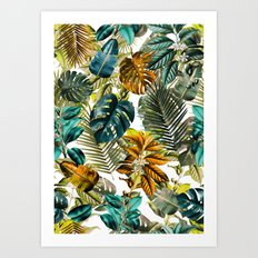 Tropical Garden IV Art Print
