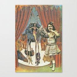 Circus Friends - Katrina Niswander Canvas Print
