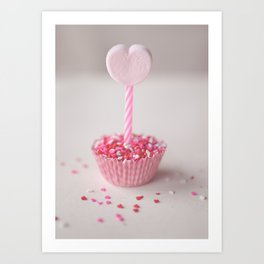 Sprinkles of Love Art Print