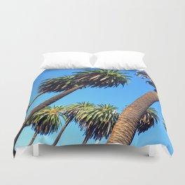 Peaceful Palms Duvet Cover