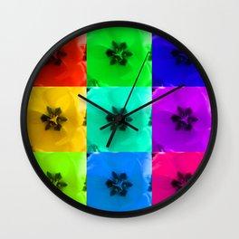 Tulip x9 - I Wall Clock