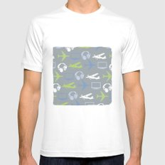 high-fi Mens Fitted Tee White MEDIUM