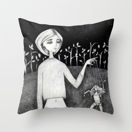 Kukkl Throw Pillow