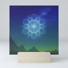 Sacred Geometry (Cosmic Connection) Mini Art Print