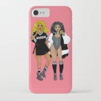 lana del rey iPhone & iPod Cases featuring Mary Del Rey by Mayumi Atanacio