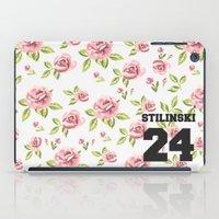 stiles stilinski iPad Cases featuring Stilinski 24 by Indy