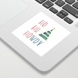 Texas Holiday Cheer Sticker