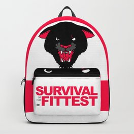 SURVIVAL OF THE FITTEST Backpack
