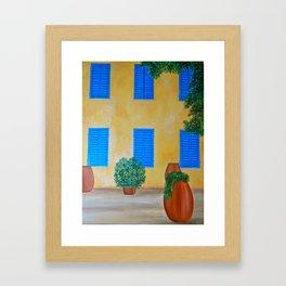 Alghero Casa Framed Art Print